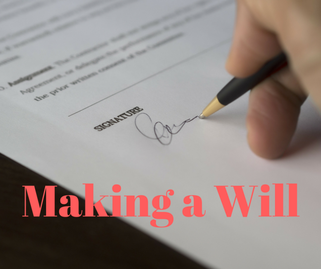 Reasons to make a will Liddy Neilan Solicitors
